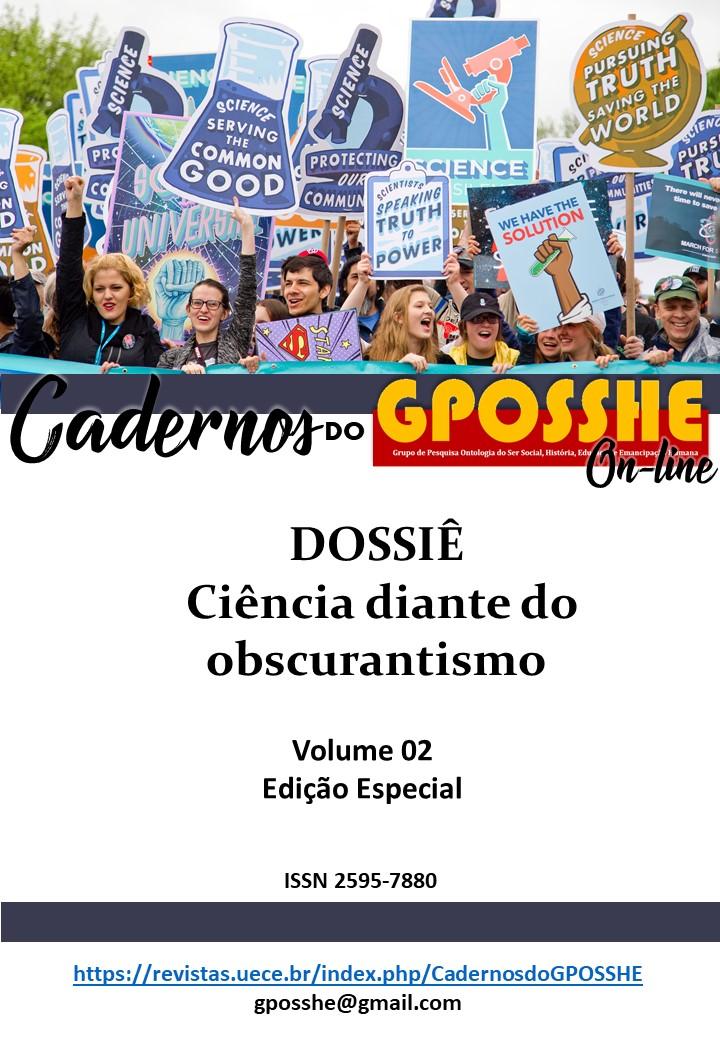Visualizar v. 3 n. 1 (2020): A Ciência diante do Obscurantismo