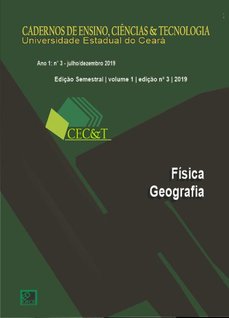 Visualizar v. 1 n. 3 (2019): Ensino de Física e Geografia