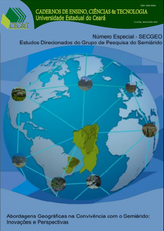 Artigos apresentados no evento do III SECGEO (Estudos Direcionados do Grupo de Pesquisa do Semiárido)