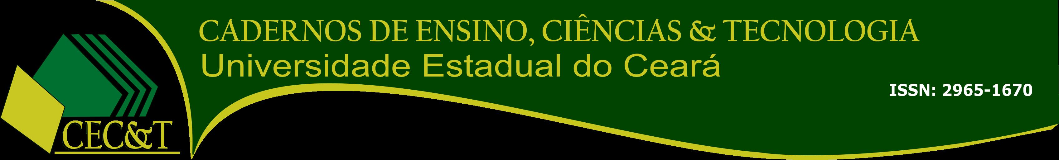 CADERNOS DE CIÊNCIAS & TECNOLOGIA
