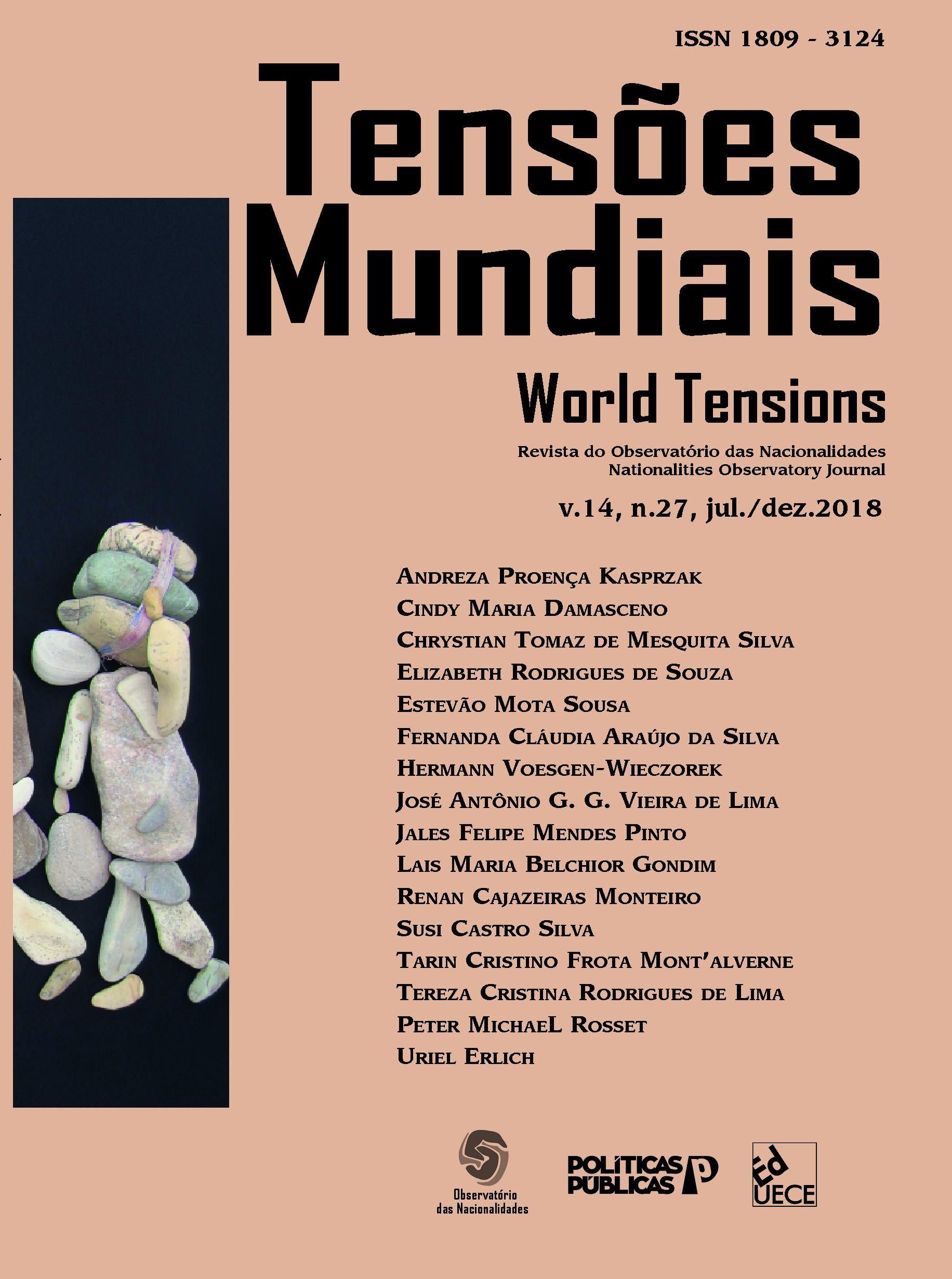 Visualizar v. 14 n. 27 (2018): Tensões Mundiais - Congresso: Refugiados Transformações Globais