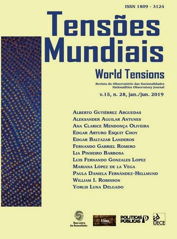 Visualizar v. 15 n. 28 (2019): Tensões Mundiais - Edição Temática: América Central