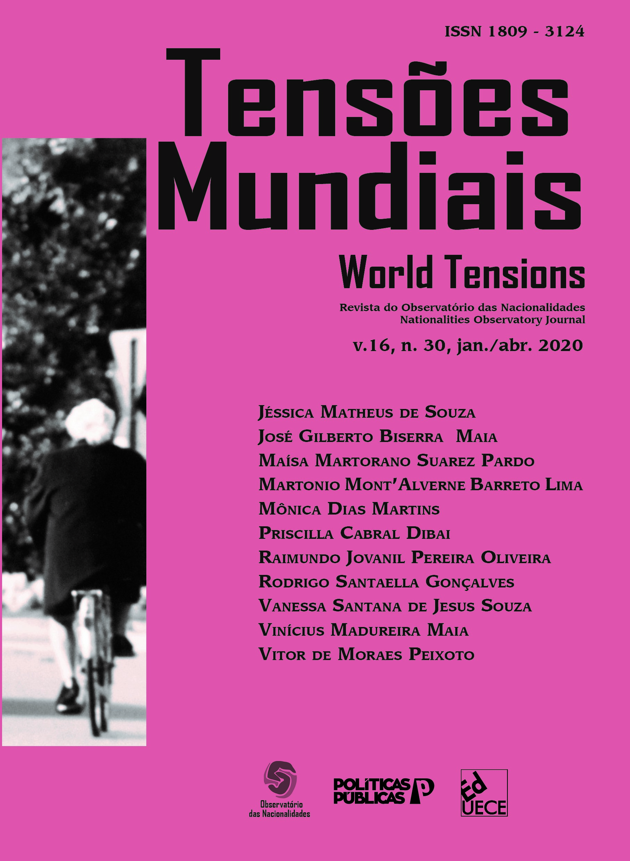 Visualizar v. 16 n. 30 (2020): Tensões Mundiais - Edição Temática: Democracia Contemporânea