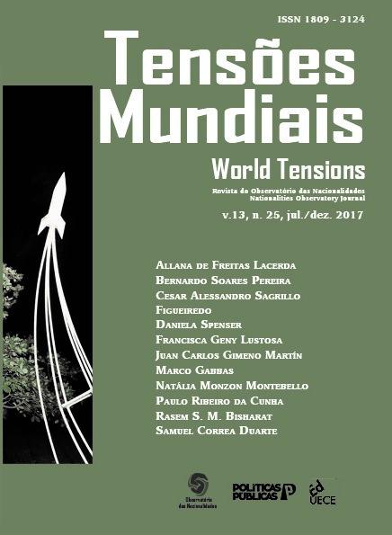 Visualizar v. 13 n. 25 (2017): Tensões Mundiais