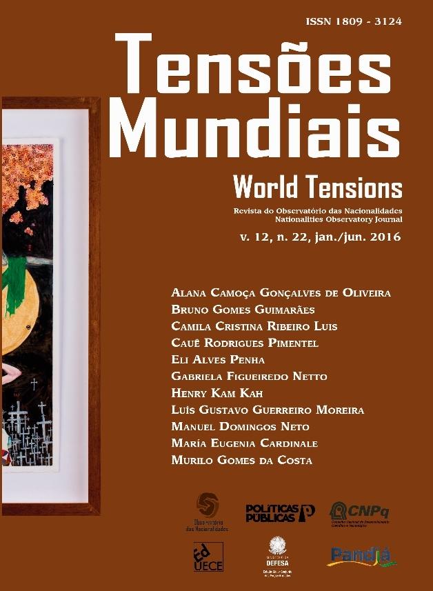 Visualizar v. 12 n. 22 (2016): Tensões Mundiais (Edição Temática): A defesa do Atlântico Sul
