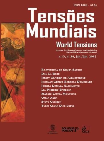 Visualizar v. 13 n. 24 (2017): Tensões Mundiais (Edição Temática): 100 anos da Revolução Russa