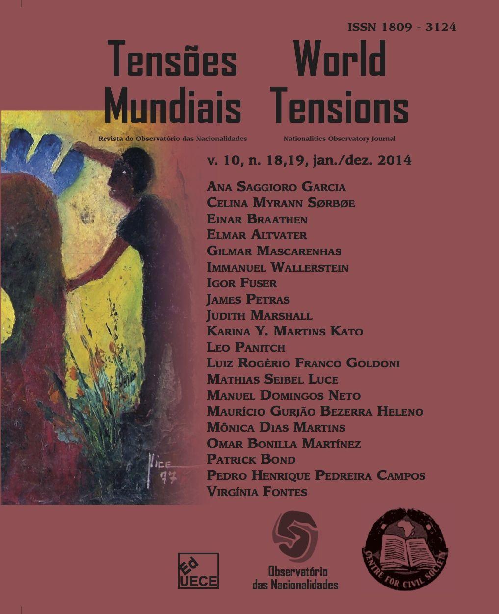 Visualizar v. 10 n. 18,19 (2014): Tensões Mundias (Edição Temática): BRICS