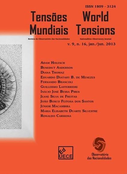 Visualizar v. 9 n. 16 (2013): Tensões Mundiais