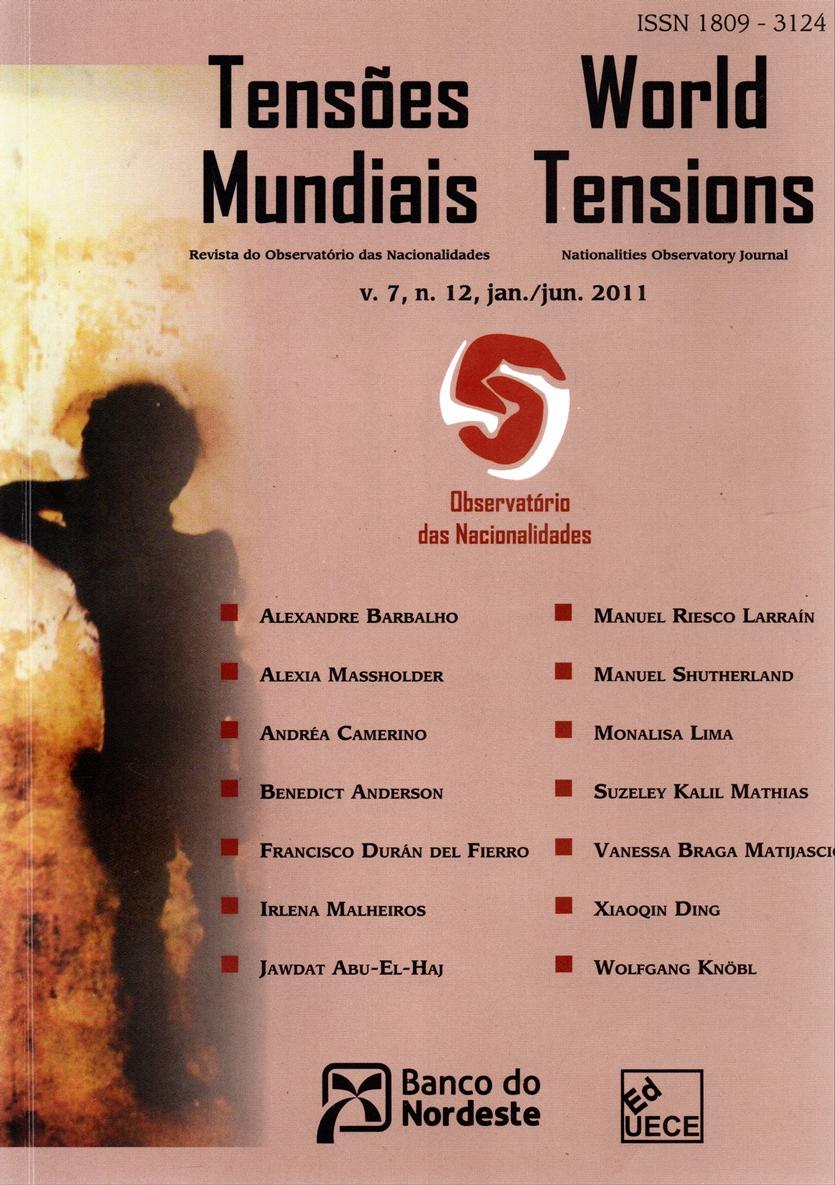 Visualizar v. 7 n. 12 (2011): Tensões Mundiais