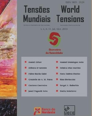 Visualizar v. 6 n. 11 (2010): Tensões Mundiais