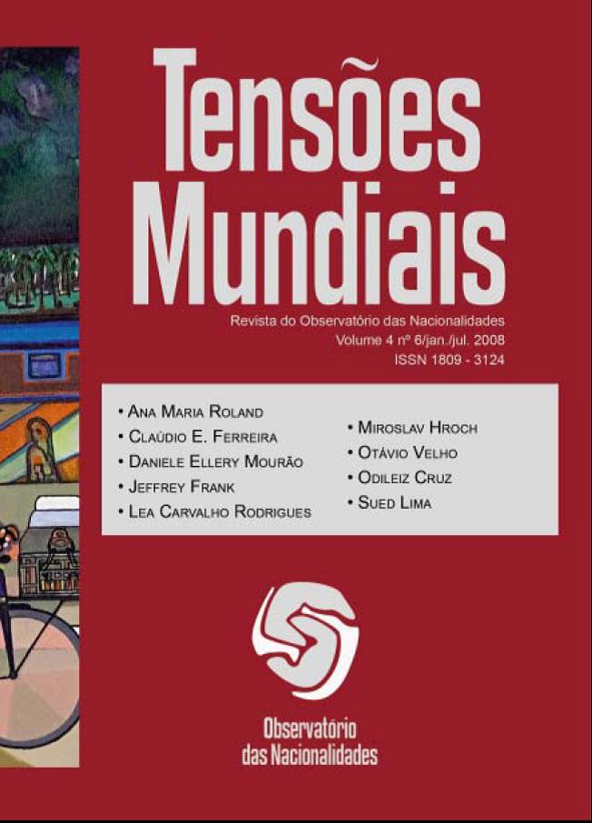 Visualizar v. 4 n. 6 (2008): Tensões Mundiais