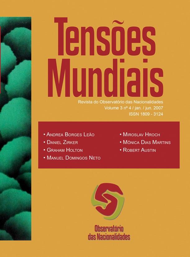 Visualizar v. 3 n. 4 (2007): Tensões Mundiais