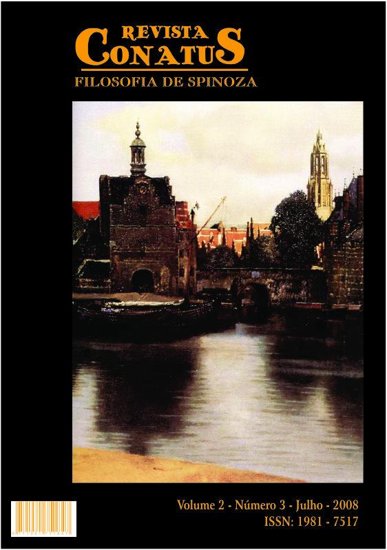 Revista Conatus - Filosofia de Spinoza - V2N3 - Julho de 2008
