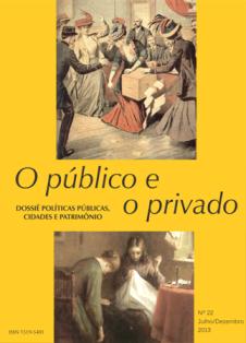 Visualizar v. 11 n. 22 jul.dez (2013): Dossiê Políticas públicas, cidades e patrimônio