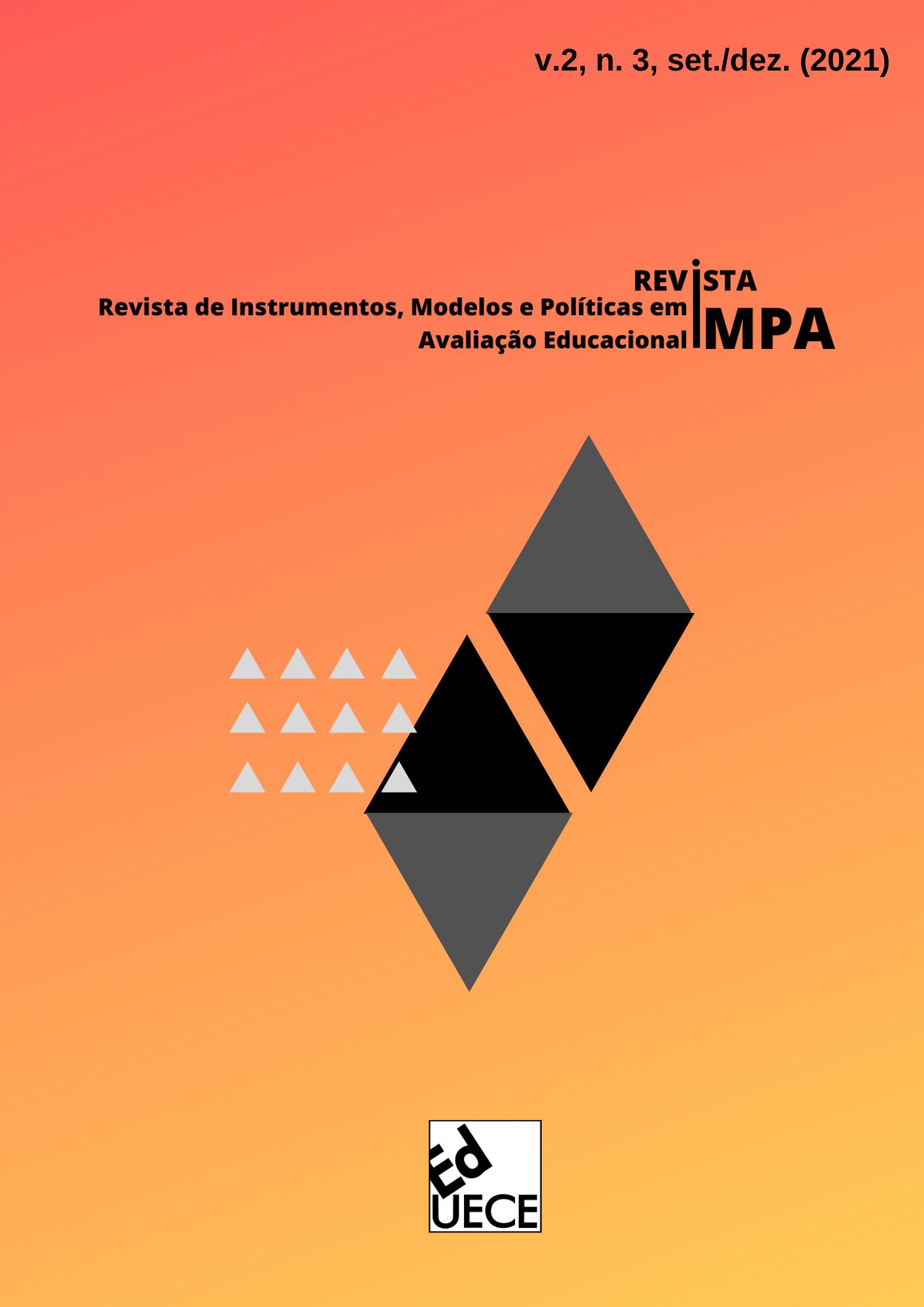 Visualizar v. 2 n. 3 (2021): Revista de Instrumentos, Modelos e Políticas em Avaliação Educacional