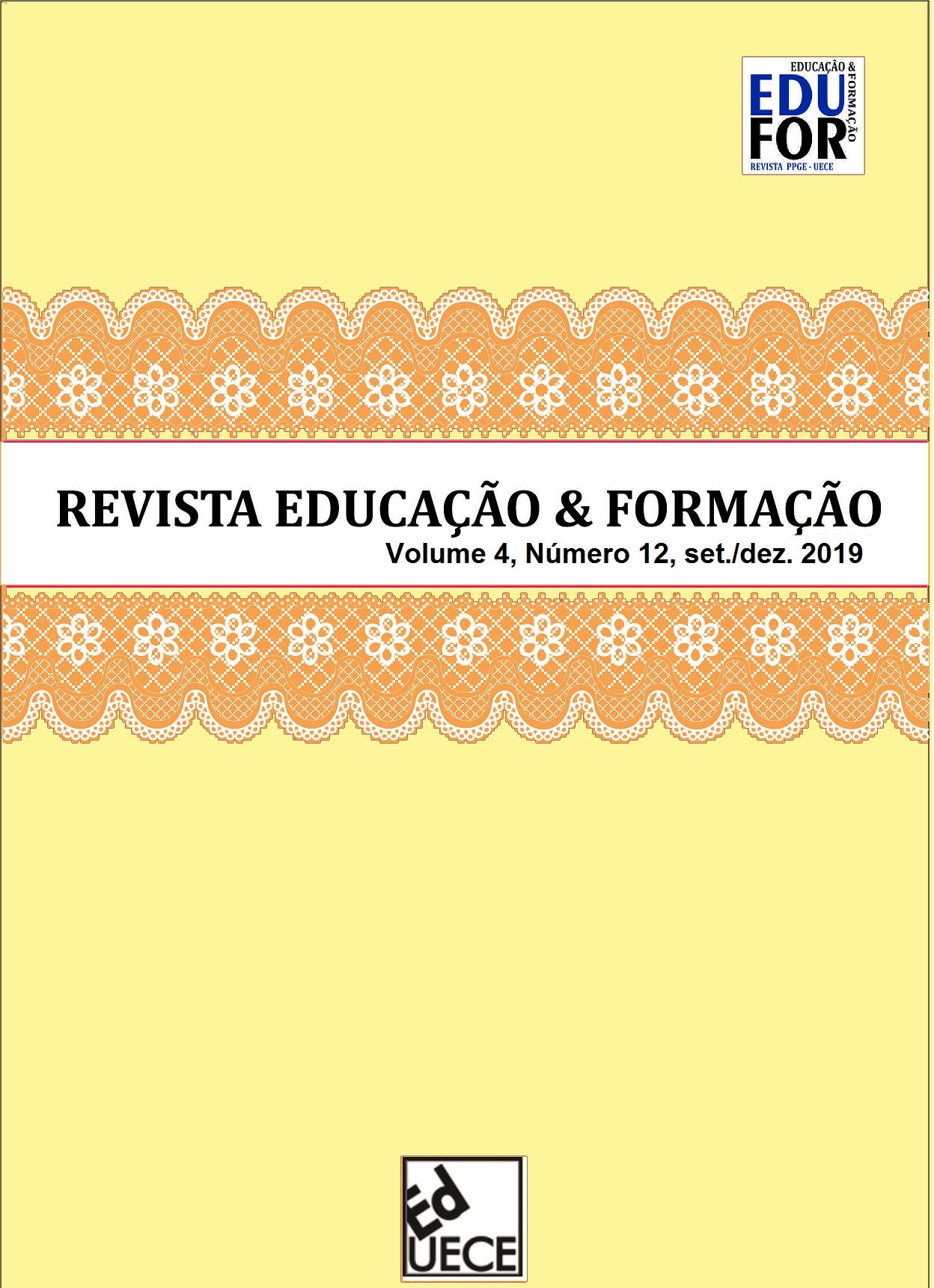 Visualizar v. 4 n. 3 (2019): Educação & Formação