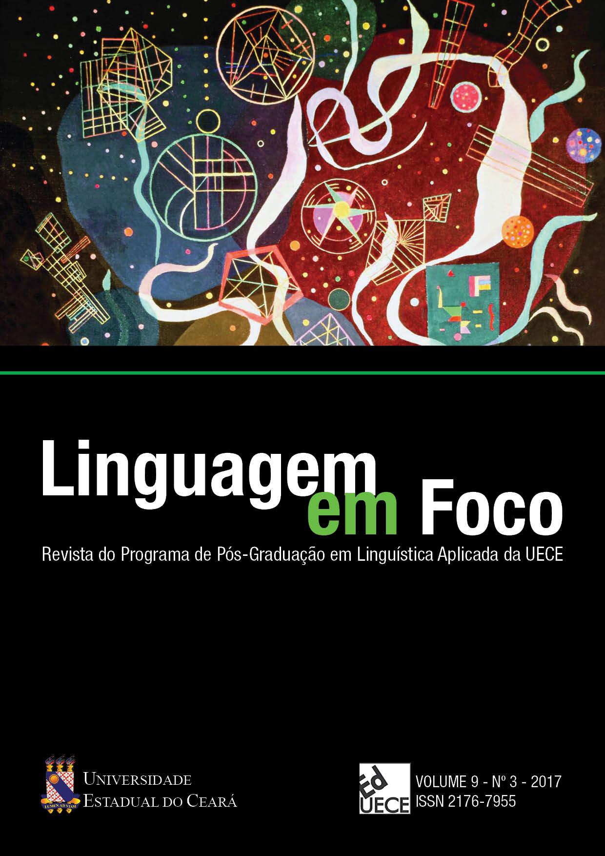 Visualizar v. 9 n. 3 (2017): Linguagem em Foco